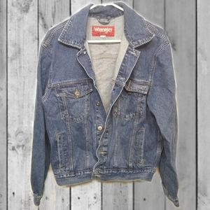 Vintage Wrangler Hero denim jacket.